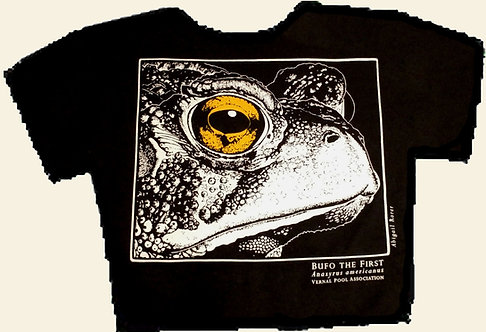 American toad t-shirt
