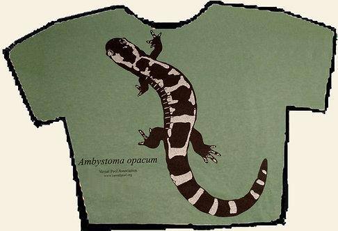 Marbled salamander t-shirt
