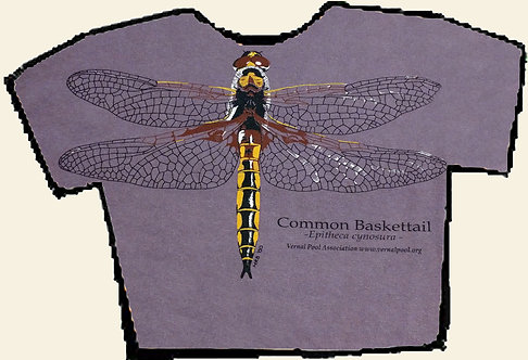 Baskettail dragonfly t-shirt