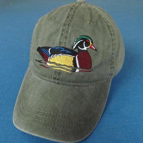 Wood duck hat