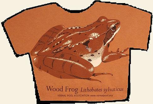 Wood frog t-shirt