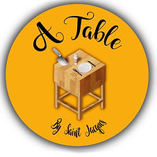 A TABLE BY SAINT JACQUES
