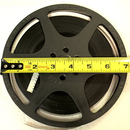 "Movie Film 7"" Reel to DVD. $59.95 / reel -400 feet"