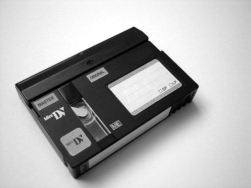 Mini DV or Mini DVD transferred to DVD $15.00/tape