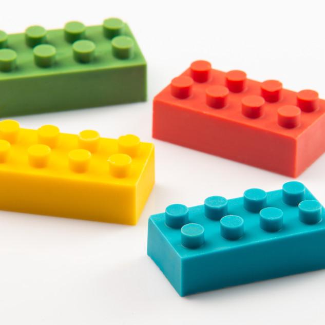 Bombom de Lego
