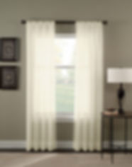 cortina tergal pliegue