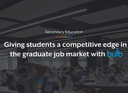 Giving students a competitive edge in the graduate job market with bulb