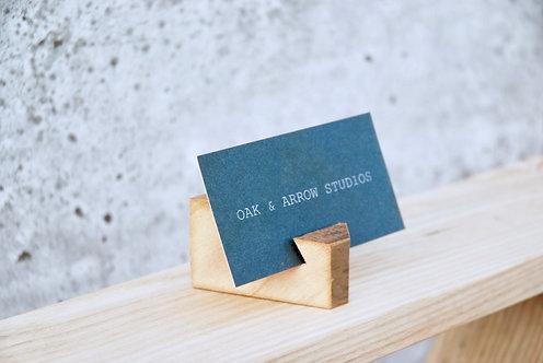 Barn Board Card Holders - Point