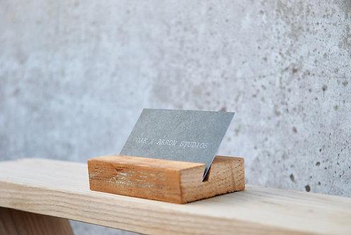 Card Holder Block