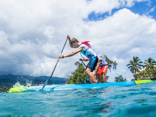 Marcus Hansen vence a primeira prova do The Paddle League, o Air France Paddle Festival.
