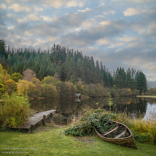 The Boat House, Loch Ard, Trossachs (Framed)