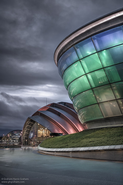 SSEC & Armadillo, Clydeside, Glasgow (Print Only)