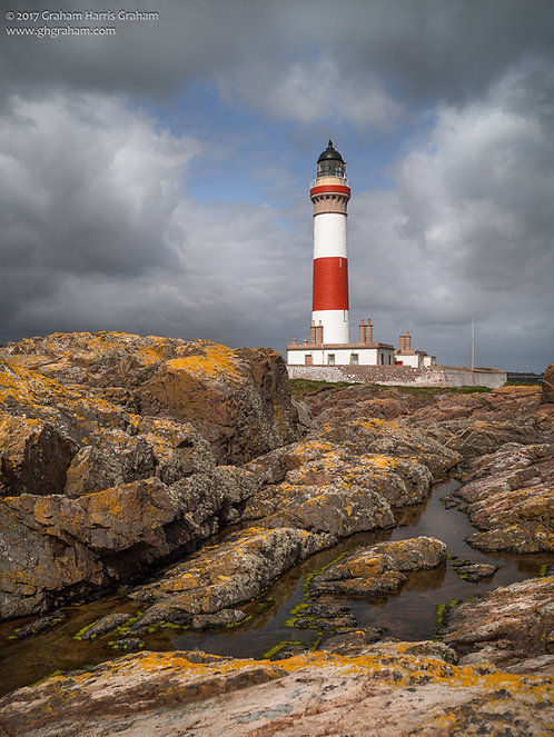 Buchan Ness Lighthouse, Boddam, Aberdeenshire (Print Only)