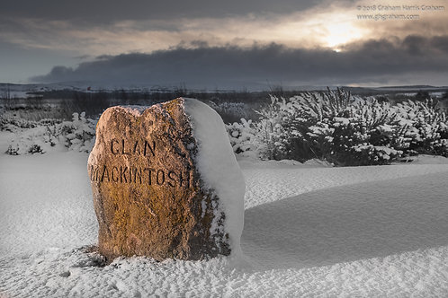 Clan Mackintosh, Culloden Moor, Inverness-shire (Print Only)