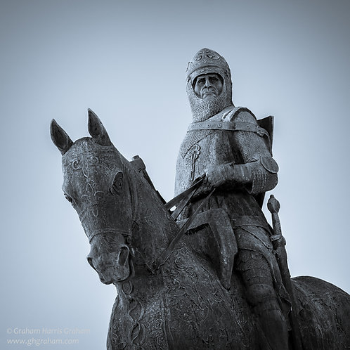 The Bruce, Victory Memorial, Bannockburn (Framed)