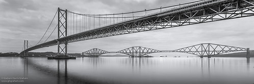 The Forth Bridges, South Queensferry (Print Only)