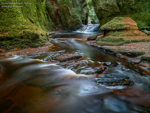 The Devil's Pulpit, Finnich Glen, Stirlingshire (Print Only)