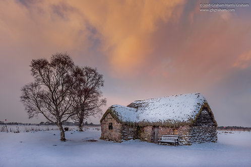 Leanach Cottage, Culloden, Inverness-shire (Print Only)