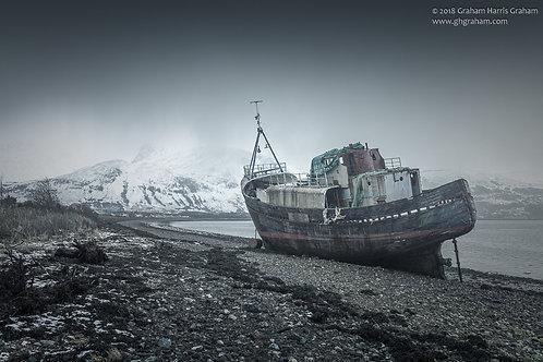 Abandoned Trawler, Corpach