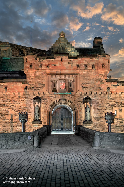 Portcullis, Edinburgh Castle (Print Only)