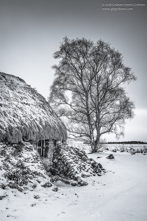 Leanach Cottage, Culloden Moor, Inverness-shire (Print Only)