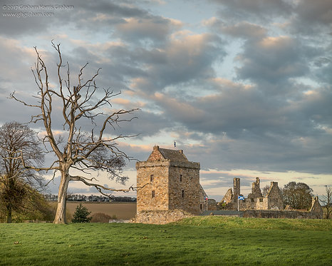 Balgonie Castle, Mains of Balgonie, Fife (Print Only)