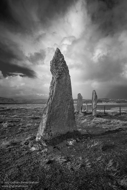 Calanais II, Eilean Leòdhais (Callanish II, Isle of Lewis)