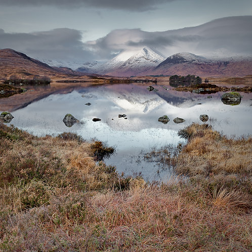 Creise, Rannoch Moor, Argyll (Framed)