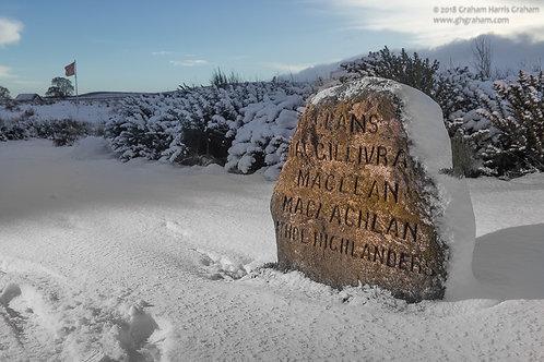 MacGillivray, MacLean, MacLachlan, Atholl Highlanders, Culloden