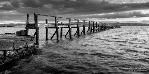 The Pier, Culross, Fife (Framed)