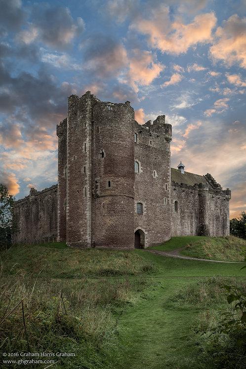 Doune Castle, Doune Village, Stirlingshire (Print Only)