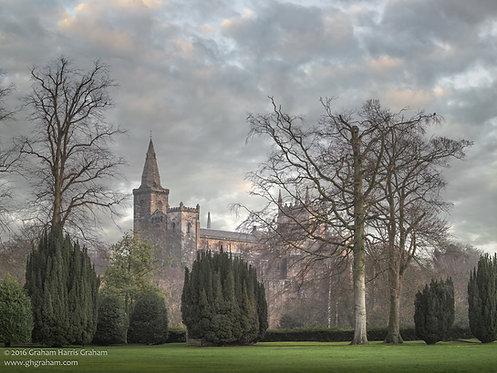 Dunfermline Abbey, Pittencrieff Park, Dunfermline (Print Only)