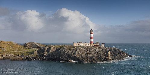 Eilean Glas Lighthouse, Isle of Scalpay, Hebrides (Framed)