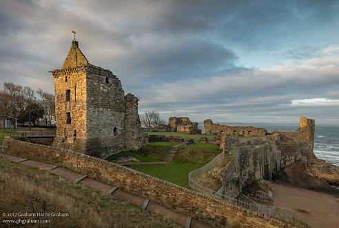 St. Andrews Castle, St. Andrews, Fife (Print Only)