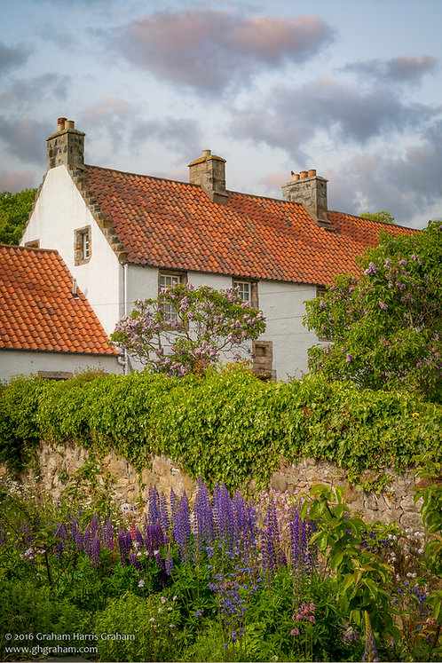 Cottage Garden, Culross, Fife (Print Only)