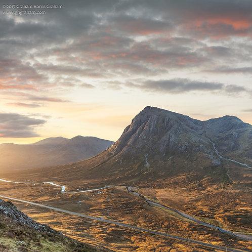 Buachaille Etive Mhor, Altnafeadh, Glencoe, Lochaber (Framed)