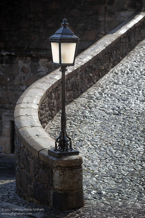 Period Lamp, Stirling Castle (Print Only)