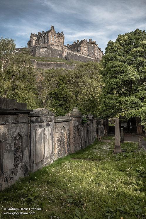 Castle Rock, Parish Church of St. Cuthbert, Edinburgh (Print Only)