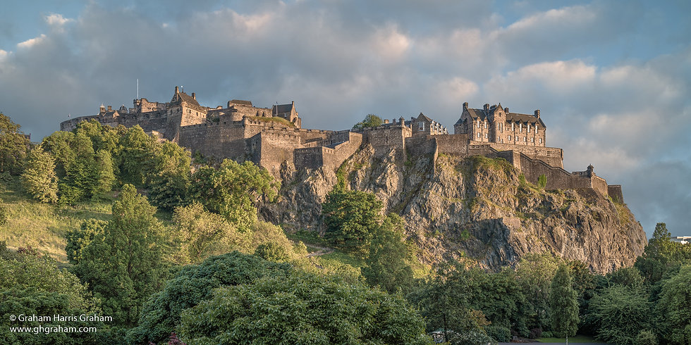 Edinburgh Castle Rock 2 x 1 (2400 x 1200