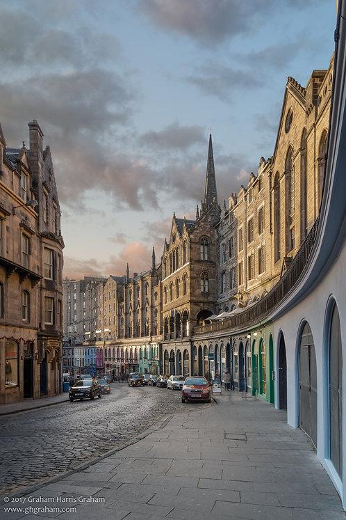 Victoria Street, Edinburgh (Print Only)