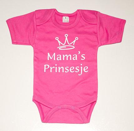 Rompertje - Roze - Mama's Prinsesje