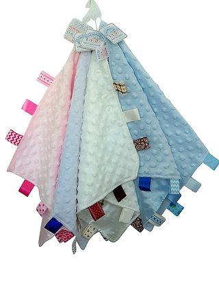 Knuffeldoekjes, baby doekjes www.bimbolino.be