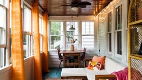 Boho Porch REVEAL - Spring 2021 One Room Challenge