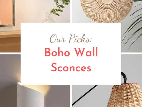 Our Picks: Favorite Boho Wall Sconces