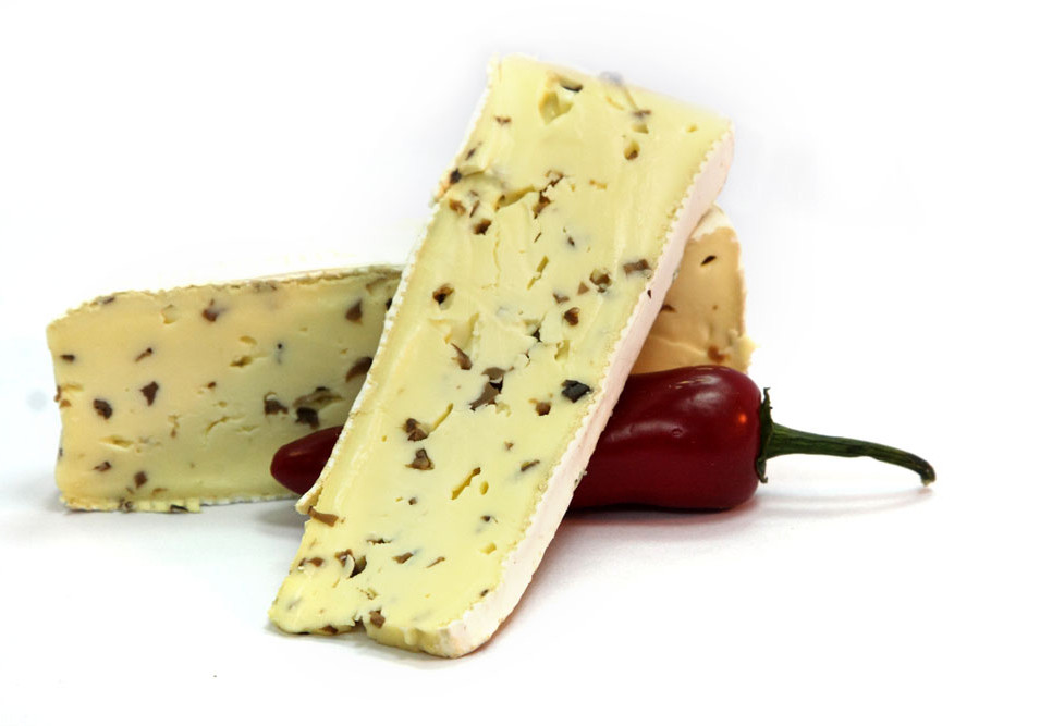 Cheese and Red Pepper