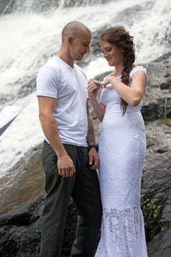 Waterfall Wedding - 3