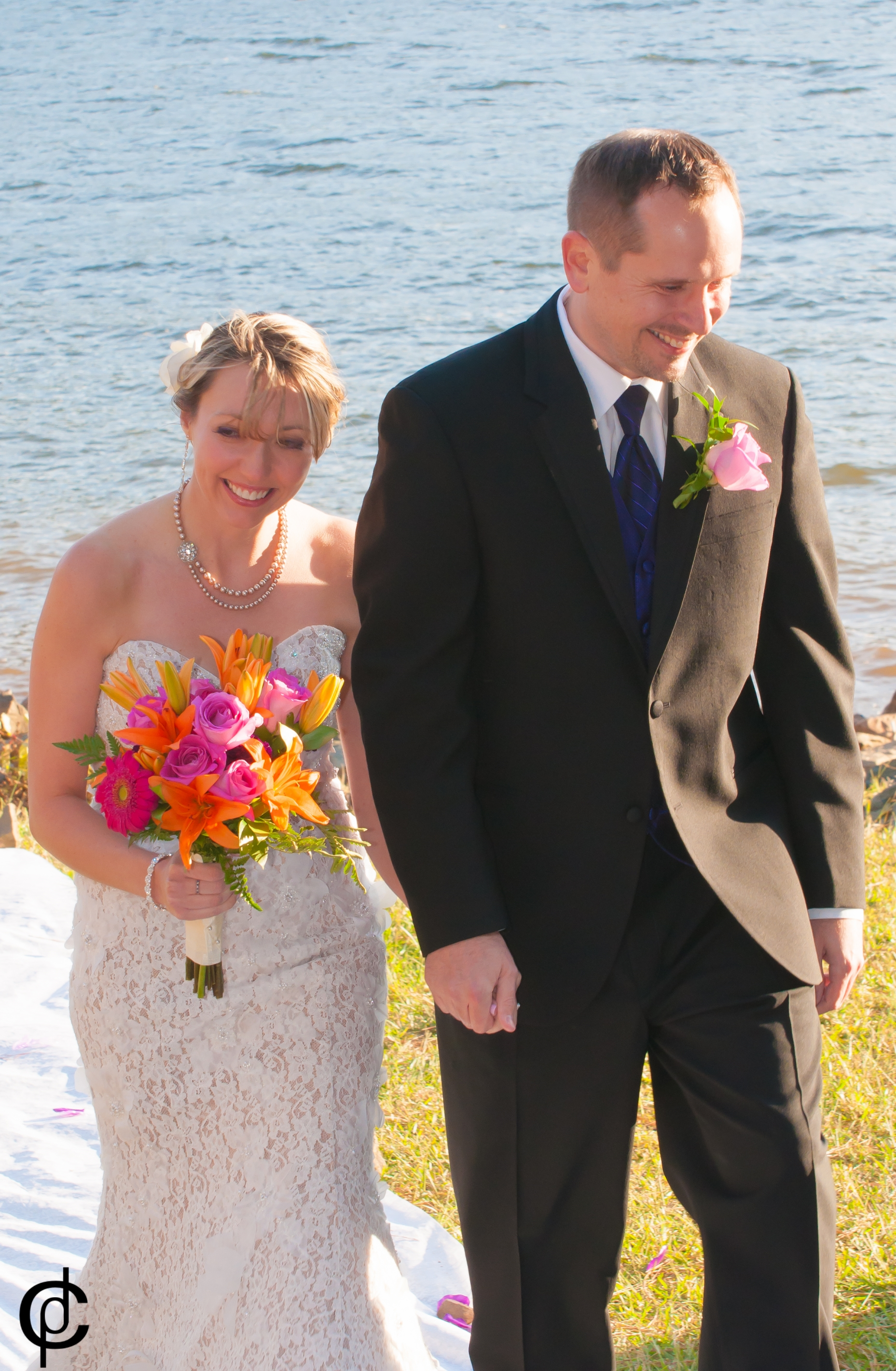 Lake Wedding - 17