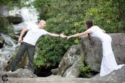 Waterfall Wedding - 12