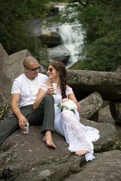 Waterfall Wedding - 17