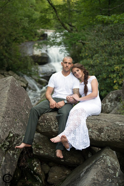 Waterfall Wedding - 14